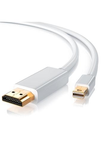 CSL Premium Full HD Mini DisplayPort auf HDMI Kabel »HDMI Stecker zu Mini DisplayPort... kaufen