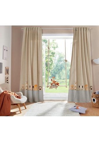 Lüttenhütt Gardine »Tiere«, Kindervorhang kaufen