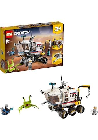 LEGO® Konstruktionsspielsteine »Planeten Erkundungs-Rover (31107), LEGO® Creator«,... kaufen
