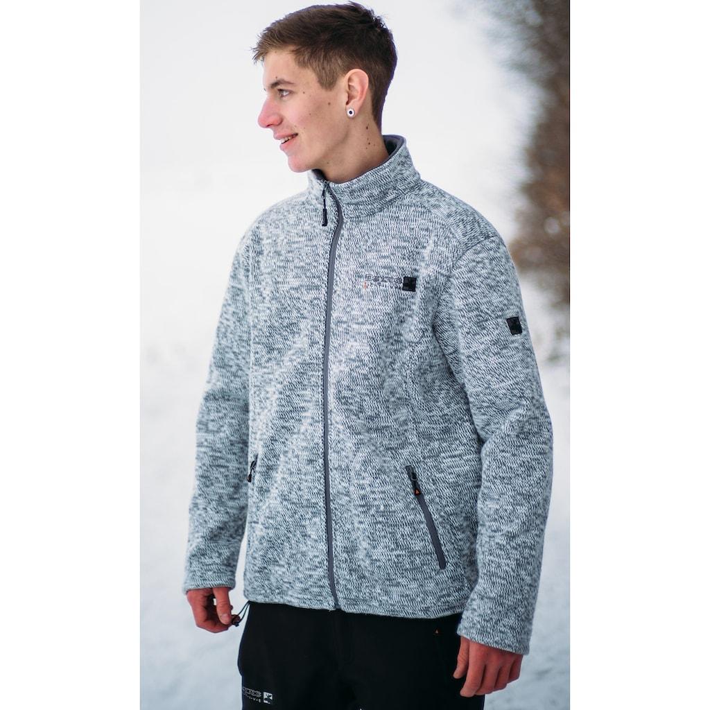 DEPROC Active Strickfleecejacke »WHITEFORD Men«, auch in Großen Größen erhältlich