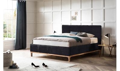 Leonique Polsterbett »Noan«, geräumiger Bettkasten, Lattenrahmen mit Gasdruckfedern, auch mit 7- Zonen-Matratze kaufen