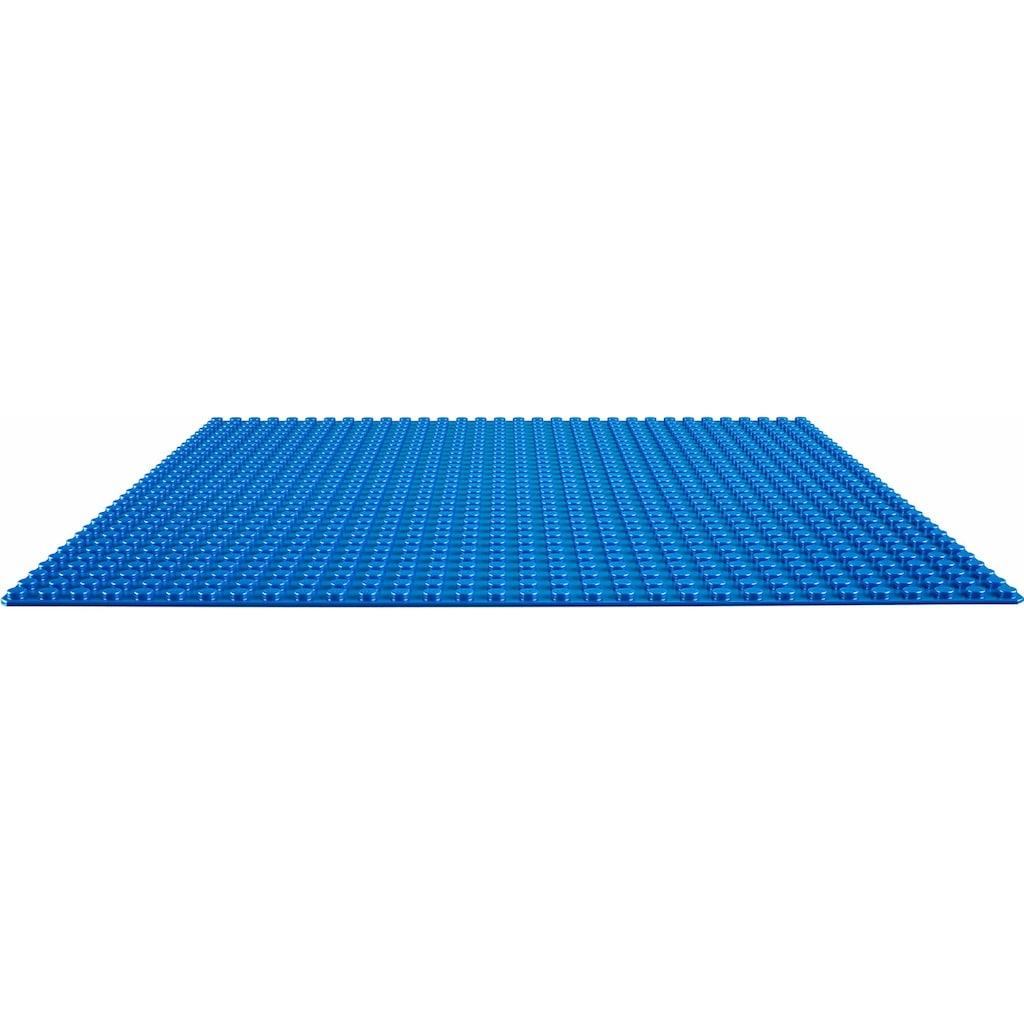LEGO® Konstruktionsspielsteine »Blaue Bauplatte (10714), LEGO® Classic«, (1 St.)
