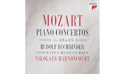 Musik-CD »Klavierkonzerte 23 & 25 / Buchbinder,R./Harnoncourt,N./Concentus Musicus W« kaufen