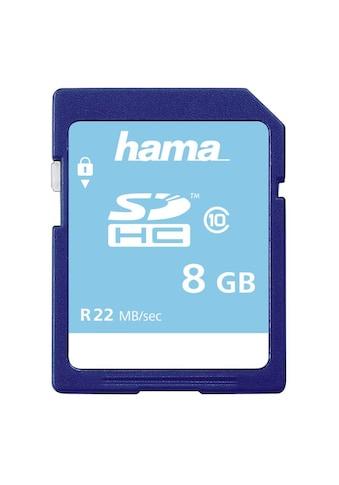 Hama Speicherkarte, (Class 10), 8 GB, Class 10 kaufen