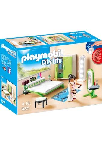 Playmobil® Konstruktions-Spielset »Schlafzimmer (9271), City Life«, Made in Germany kaufen