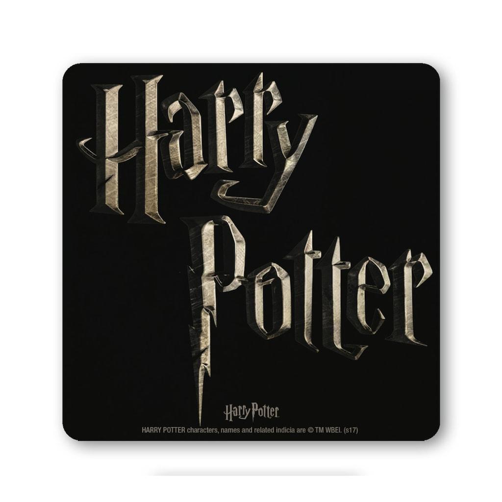 LOGOSHIRT Untersetzer mit tollem Harry Potter-Motiv