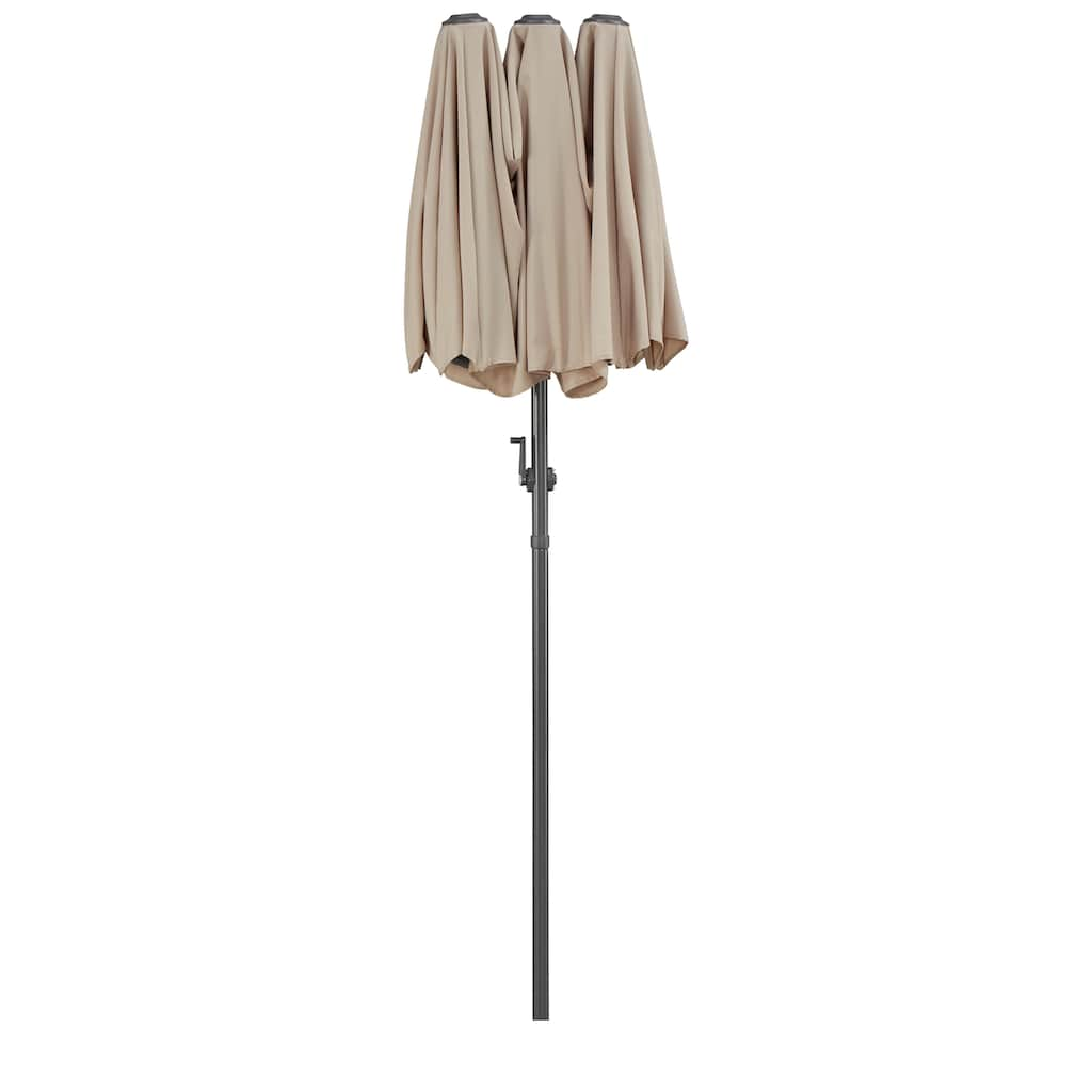 KMP Sonnenschirm »Malaga«, Inkl. Schutzhülle, ohne Schirmständer