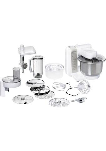 BOSCH Küchenmaschine MUM48140DE, 600 Watt, Schüssel 3,9 Liter kaufen