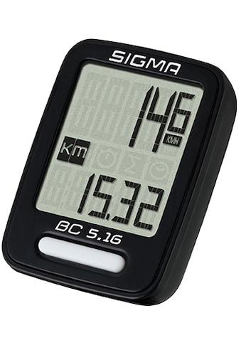SIGMA SPORT Fahrradcomputer »BC 5.16« kaufen
