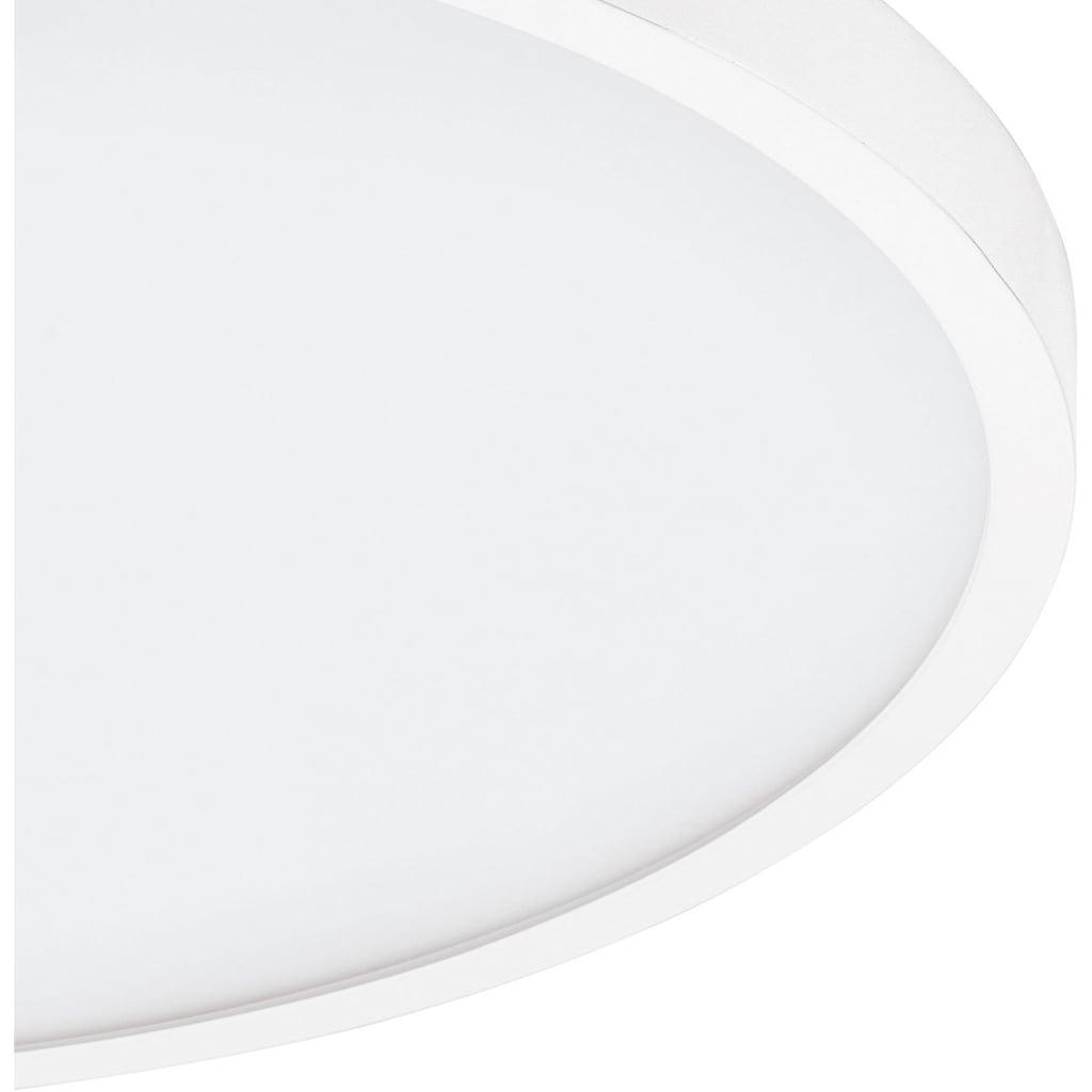 EGLO Aufbauleuchte »FUEVA 1«, LED-Board, 1 St., Neutralweiß, schlankes Design, Durchmesser 50 cm