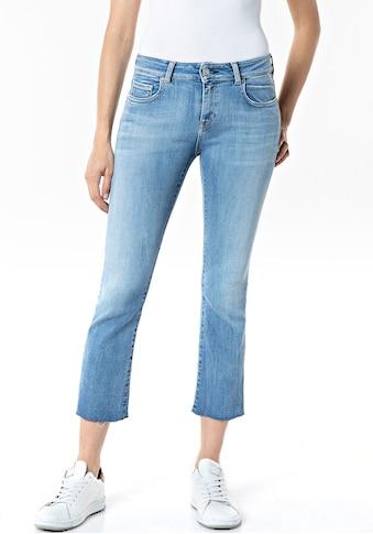 Replay 7/8-Jeans, mit auffälligem Flower-Patch kaufen