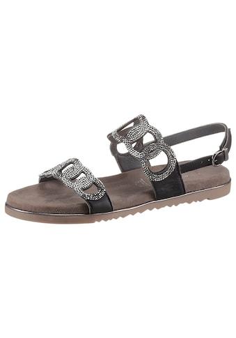 MARCO TOZZI Sandale, in funkelnder Optik kaufen