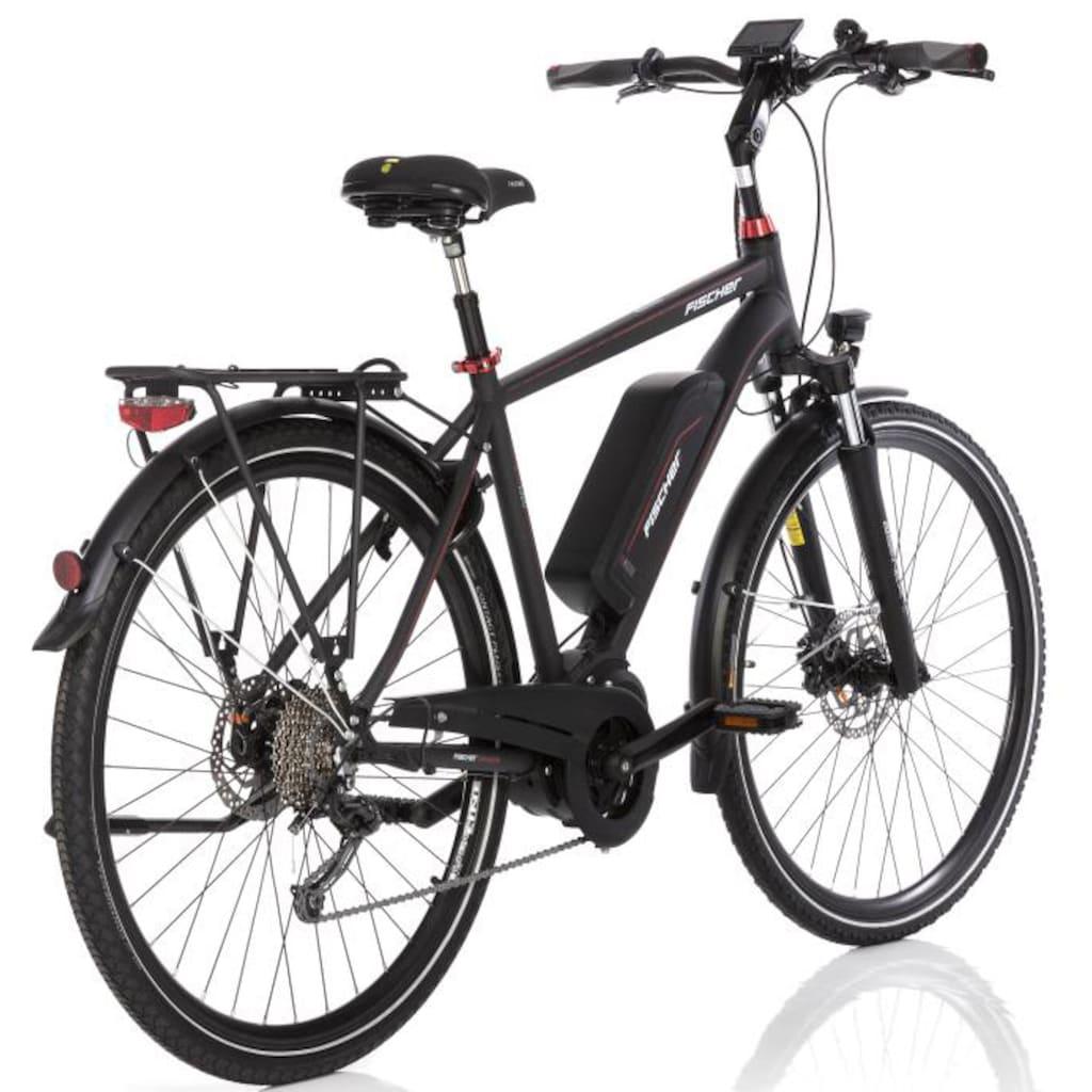 FISCHER Fahrräder E-Bike »ETH 1920«, 10 Gang, Shimano, Deore, Mittelmotor 250 W
