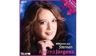 Musik-CD »MILLIONEN VON STERNEN(GESCHENK-EDITION) / Jürgens,Andrea« kaufen