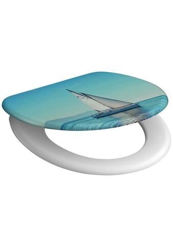 Schütte WC-Sitz »Sailing«, mit Absenkautomatik kaufen