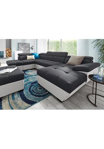 COTTA Wohnlandschaft, wahlweise mit Bettfunktion und Bettkasten kaufen