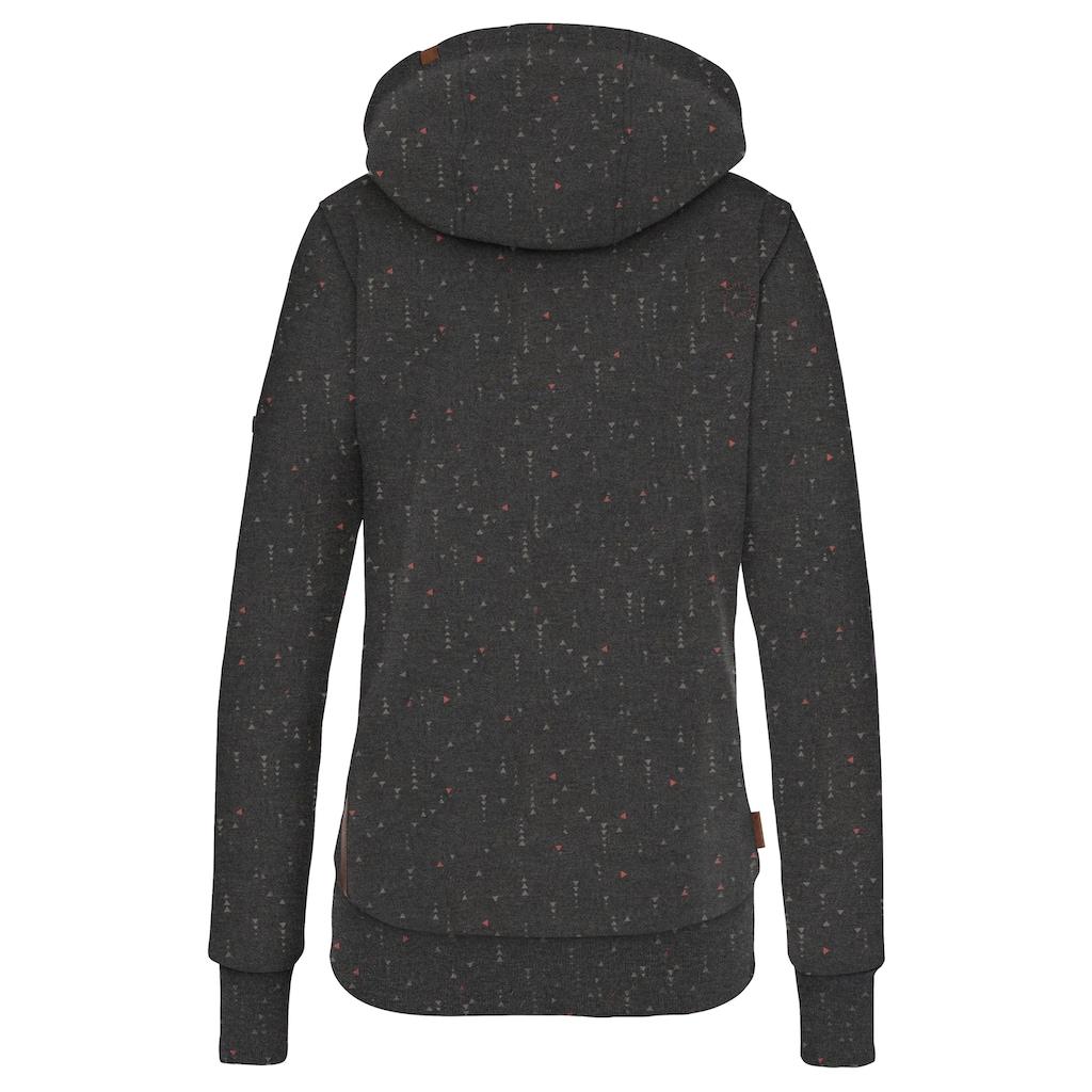 Alife & Kickin Sweatshirt »YasminAK«, bedruckter Hoodie mit Kontrast-Details