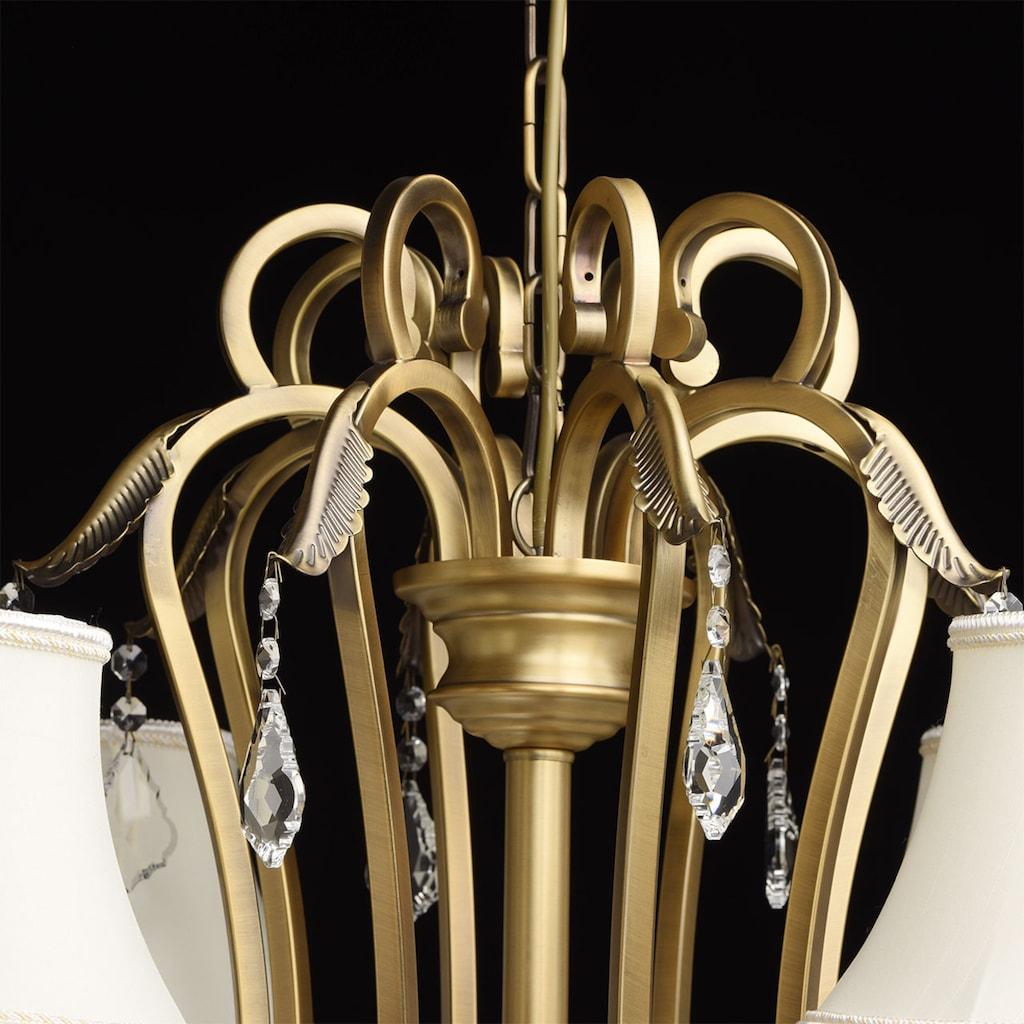CHIARO Kronleuchter »Sofia«, E14, 1 St., Hängeleuchte, Pendellampe, Pendelleuchte