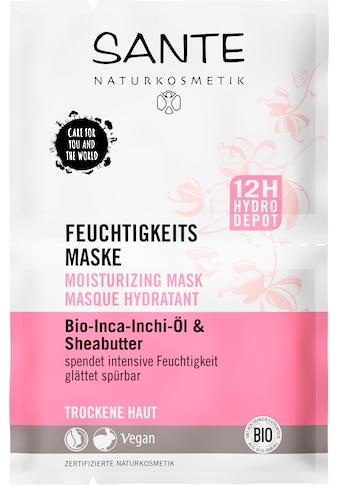 SANTE Gesichtsmaske »Feuchtigkeits Maske« kaufen