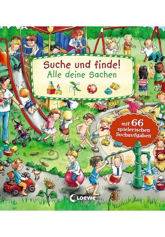 Buch »Suche und finde! - Alle deine Sachen / Katharina Wieker, Joachim Krause« kaufen
