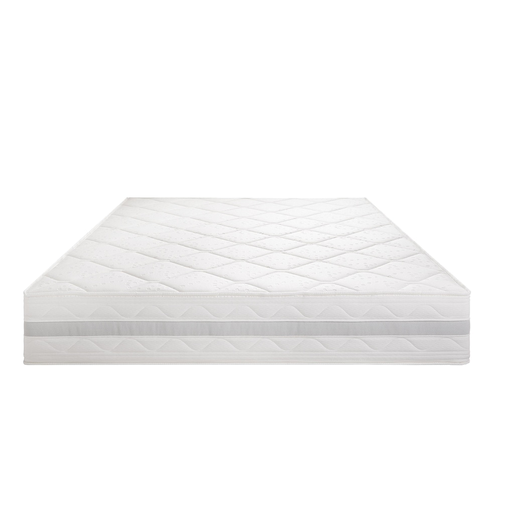 Breckle Gelschaummatratze »Gelschaum-5000«, 25 cm cm hoch, Raumgewicht: 28 kg/m³, (1 St.), 7-Zonen Komfortschaumkern, atmungsaktive Gelschaum-Zellstruktur für ein ideales Schlafklima, Made in Germany