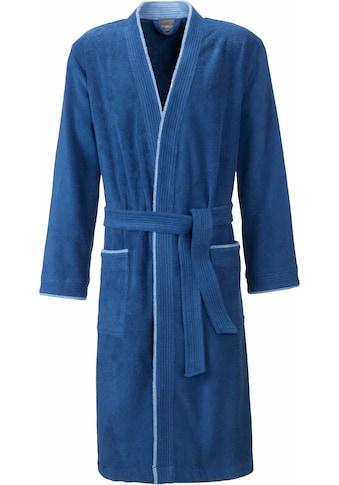 Egeria Herrenbademantel »Nico«, mit Kimono-Kragen kaufen