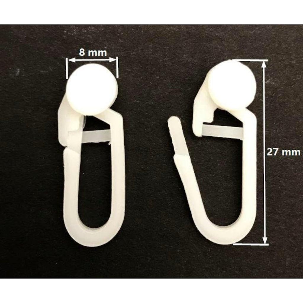 my home Gardinenröllchen, Ø 8 mm, für Gardinenleisten