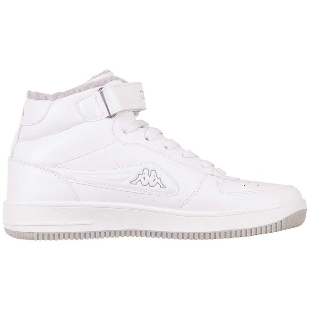 Kappa Sneaker »BASH MID FUR«, mit wärmendem Innenfutter