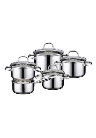 Elo - Meine Küche Topf-Set »Kallisto«, Edelstahl, (Set, 9 tlg.) kaufen