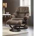 Stressless® Relaxsessel »Reno«, mit Hocker, mit Classic Base, Größe S, M & L, Gestell Wenge