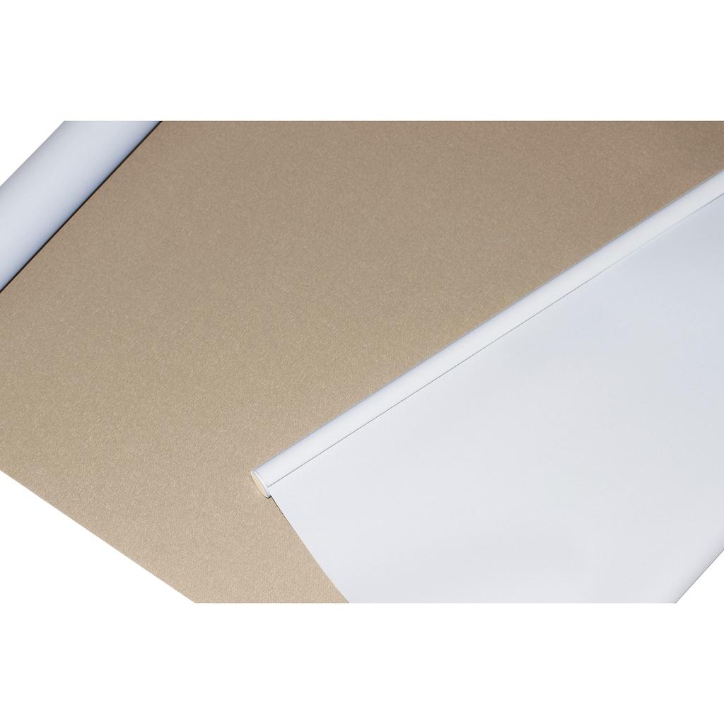 sunlines Seitenzugrollo »One size Style uni Verdunkelung«, verdunkelnd, freihängend, Made in Germany