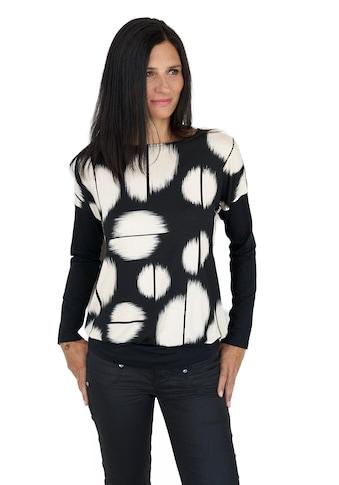 Seidel Moden Langarmshirt, mit überschnittener Schulter Made in Germany kaufen