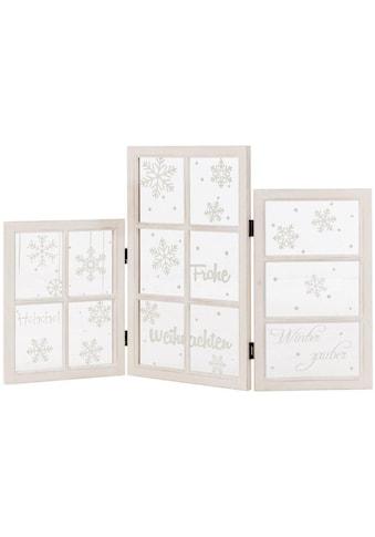 Dekoobjekt »X-Mas«, Fenster-Paravent, klappbar kaufen