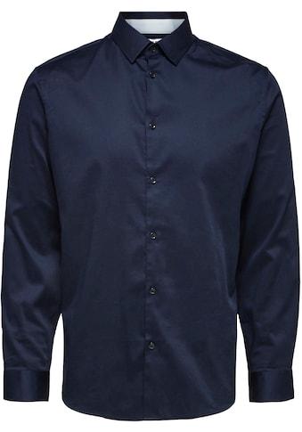 SELECTED HOMME Langarmhemd »SLIMFLEX-PARK SHIRT« kaufen