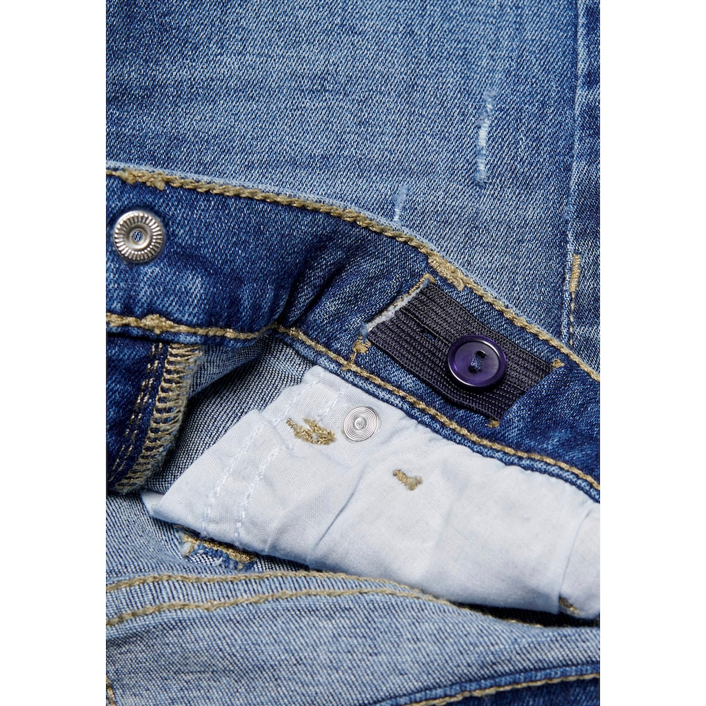 KIDS ONLY Stretch-Jeans »KONBLUSH«, mit dezenten Abriebeffekten