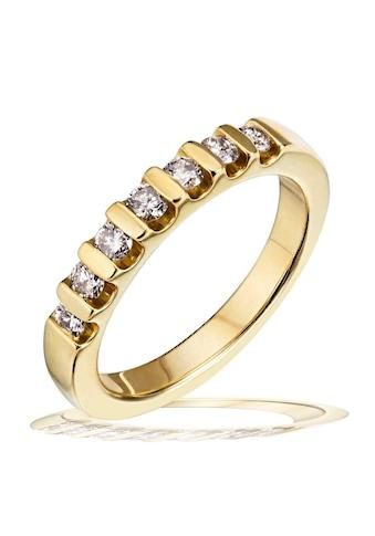 goldmaid Damenring Gold 585/- Memoire Brillanten 0,40 ct. kaufen