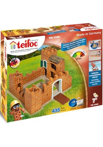 """teifoc Steinbaukasten """"Ritterburg"""", Ton, (435 - tlg.) kaufen"""