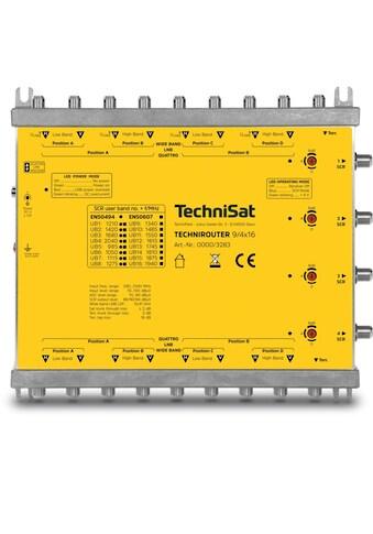 TechniSat Multischalter (1 Kabellösungen) bis zu 64 Teilnehmer »TECHNIROUTER 9/4x16« kaufen