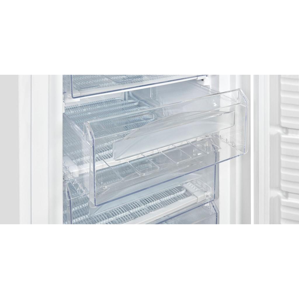 exquisit Gefrierschrank »GS235-H-040E«, 142,5 cm hoch, 55 cm breit