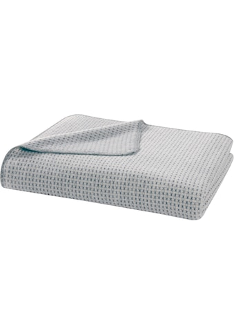 BIEDERLACK Wohndecke »Recover Grey«, aus recycelter Baumwolle und PET-Flaschen kaufen