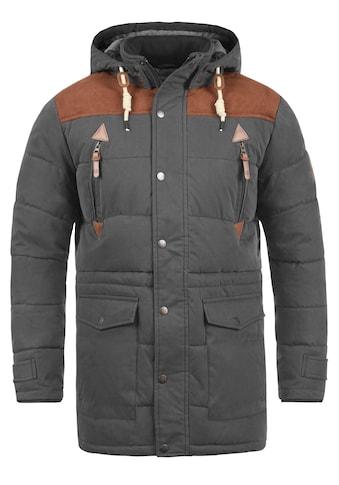 Solid Steppjacke »Dry Long«, warme Jacke warm gefüttert kaufen
