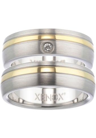 XENOX Partnerring »Xenox & Friends, X1681, X1682«, wahlweise mit oder ohne Zirkonia kaufen