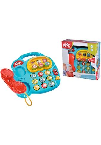 SIMBA Spieltelefon »ABC Buntes Telefon«, mit Sound kaufen