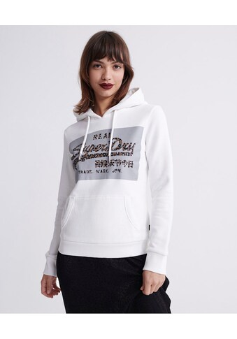 Superdry Kapuzensweatshirt »VL REFLECTIVE BOX EMTRY HOOD« kaufen