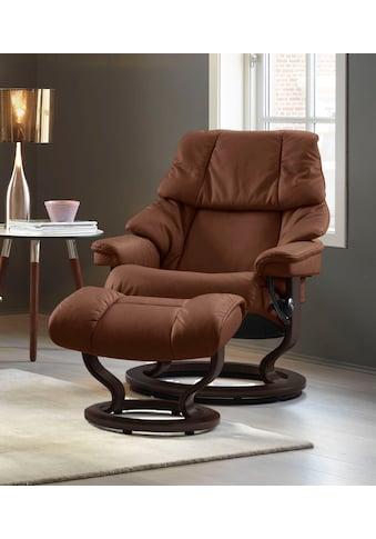 Stressless® Relaxsessel »Reno«, mit Classic Base, Größe S, M & L, Gestell Braun kaufen