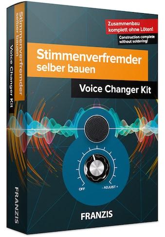 Franzis Experimentierkasten »Stimmenverfremder selber bauen« kaufen