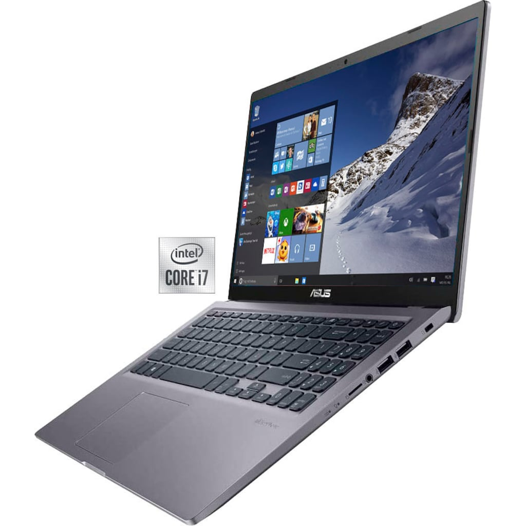 "Asus Notebook »F515JA-EJ722T«, (39,6 cm/15,6 "" Intel Core i7 Iris Plus Graphics\r\n 512 GB SSD), Kostenloses Upgrade auf Windows 11, sobald verfügbar"