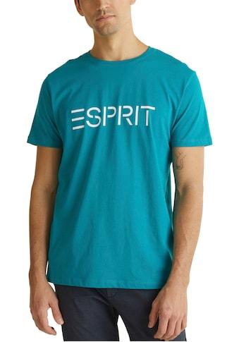 Esprit T-Shirt, mit Logofrontprint kaufen
