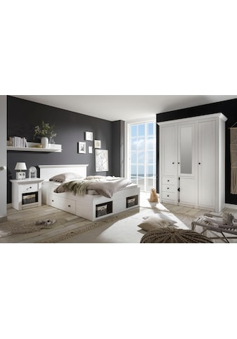 Home affaire Schlafzimmer-Set »California«, (Set, 3 St.), klein, Bett 140 cm, 1... kaufen