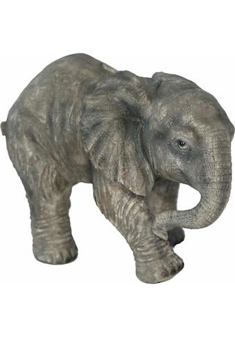 Home affaire Spardose »Elefant laufend, Breite ca. 25cm , Höhe ca. 17cm« kaufen